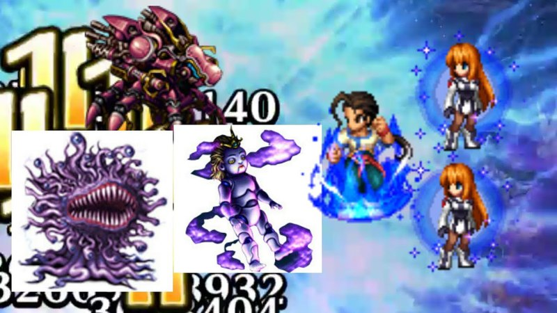 FFBE JP Elly and fei Xenogears vs jp 3 latest trials