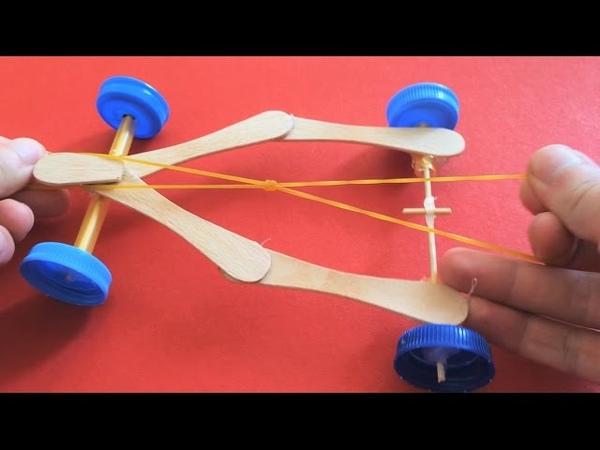 How to Make a Race Car with Ice Cream Sticks ? Çubuktan Yarış Arabası Nasıl Yapılır ?