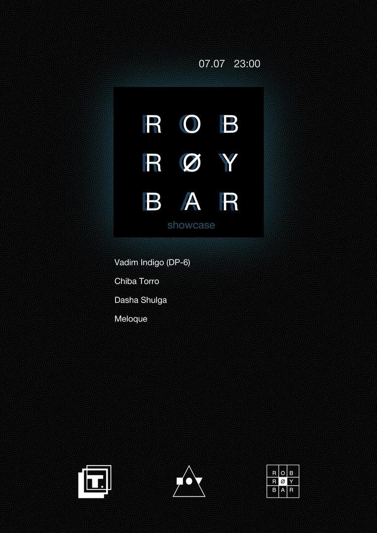 Афиша Тула Rob Roy Bar showcase / Типография