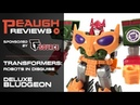 Video Review Transfomers Robots in Disguise Deluxe BLUDGEON