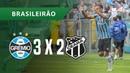 GRÊMIO 3 X 2 CEARÁ - GOLS - 23/09 - BRASILEIRÃO 2018