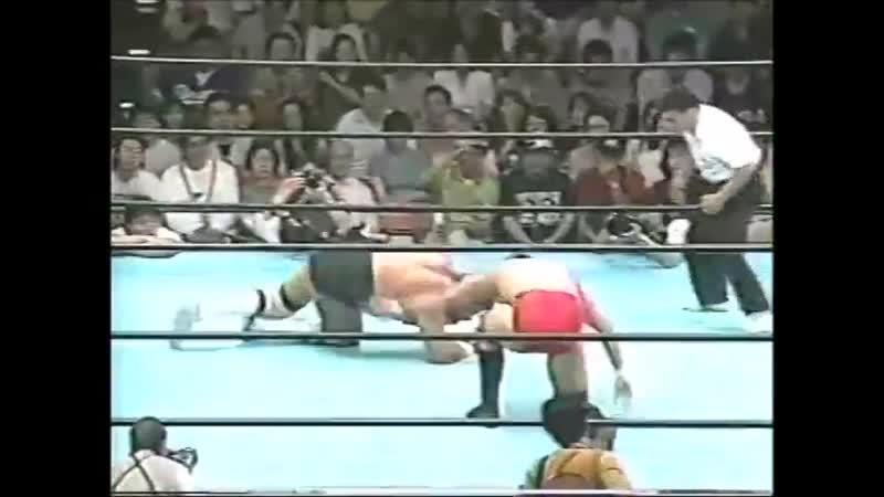 1996.06.29 - Steve Williams vs. Maunakea Mossman [JIP]