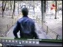 Видео с камер подъезда , Убийца Андрея Рыбакина выходит из подъезда с 2 ноутбуками
