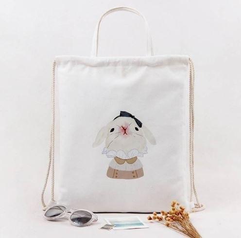 Очень милые и очень дешевые тканевые сумочки -