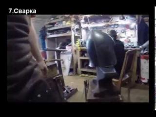Как мы делаем сварные шлемы. Видеообзор.