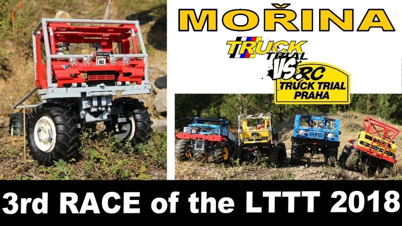 LTTT 2018 - Czech LEGO Technic Truck Trial - RACE 3