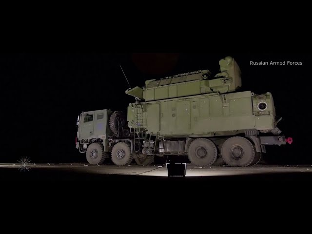 RUSSIAN TOR Air Defence System