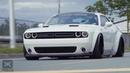 Bagged LibertyWalk Challenger GTI Thirty3 Pneumatics