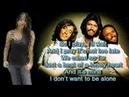 Bee Gees - Alone - Lyrics