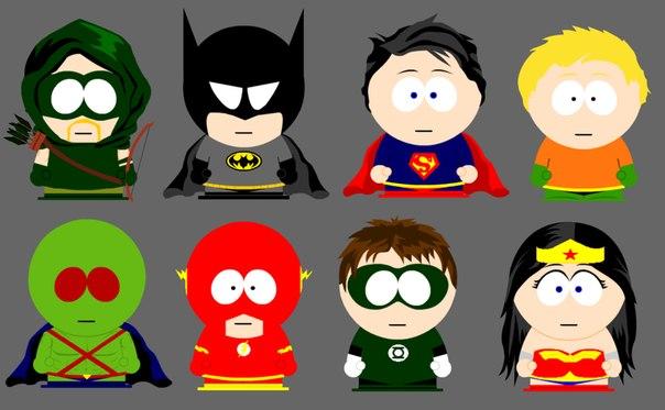 #Бэтмен #Супермэн