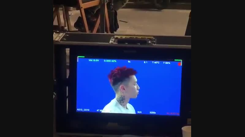 [IG VID] BTS vid of Jay Park filming his music video for V'