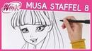 Winx Club - Staffel 8 - Wie zeichnet man Musa [TUTORIAL]