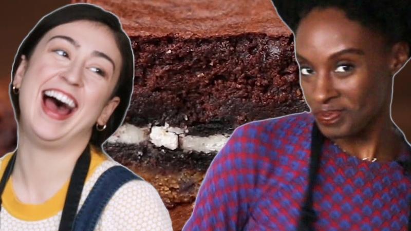 No Recipe Challenge: Oreo Cookie Brownies • Tasty