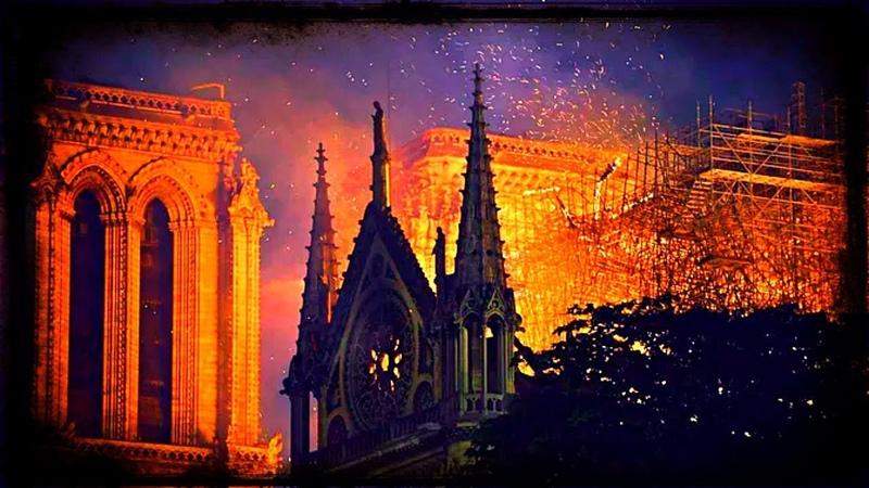Incendie de Notre-Dame : Hasard ou Signe ? (Bill Pinpin) Avril 2019