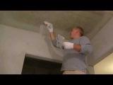 Как шпаклевать потолок своими руками.