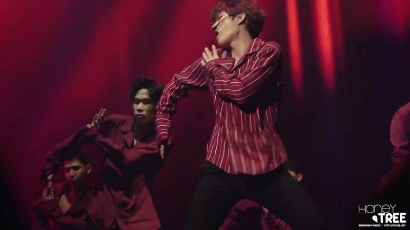 181102 NAMWOOHYUN 1st solo concert 식목일 - I Swear 우현 FOCUS