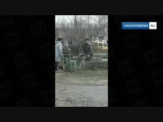 Нападение на кинолога в Иванове
