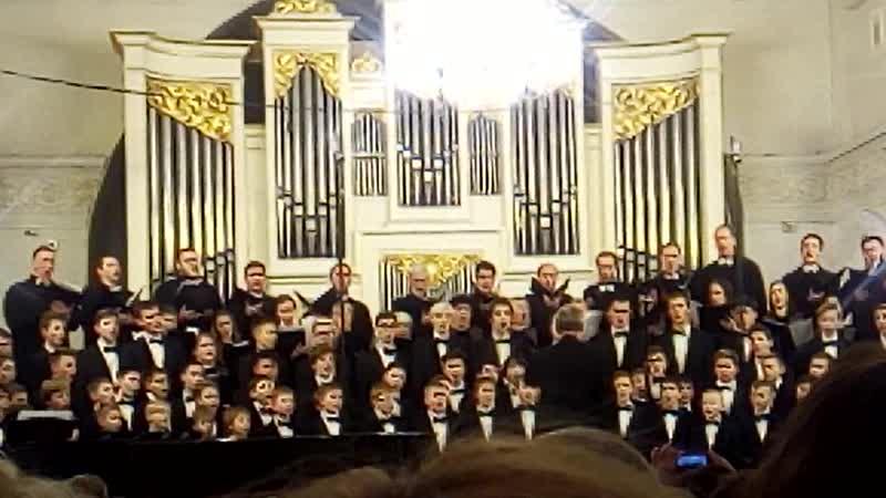 25-летие нижегородского хорового колледжа. Сводный хор.