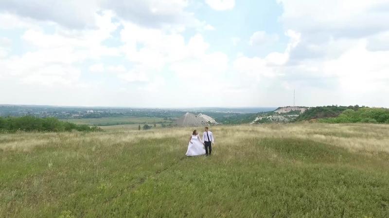 Аэросъёмка свадьбы