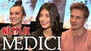 Medici The Magnificent Alessandra Mastronardi Synnøve Karlsen Bradley James Interviews