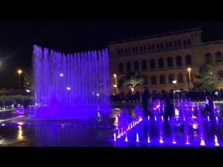 Поющие фонтаны. Калининград.