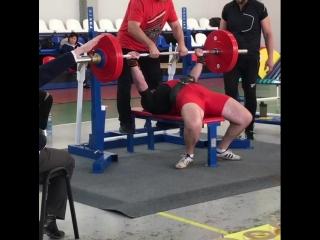 Павел Завражин на Кубке Калужской области по пауэрлифтингу