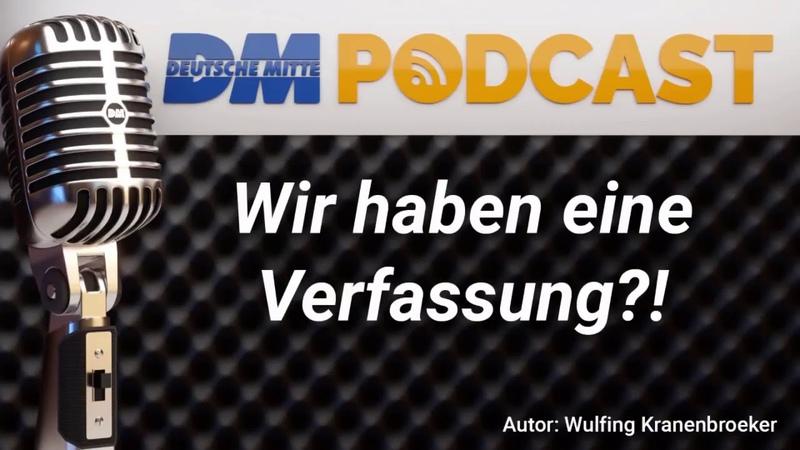 BRD Grundgesetz = keine Verfassung! BRD Partei Deutsche Mitte erkennt, das aus aller BRD Parteien!