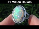 STUNNING Opal Diamond Ring - $1 Million Dollar Jewelry Collection Being Auctioned