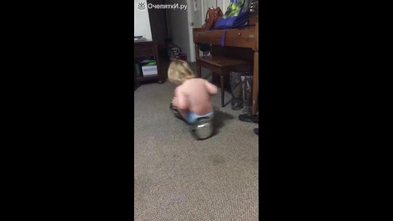 Детский провал на ховерборде