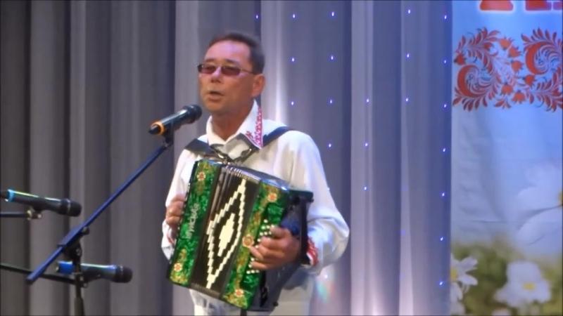 Петр Токтаров на V фестивале гармонистов в Кировской области