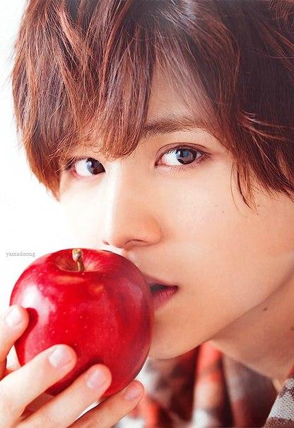 リンゴにキス