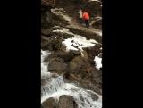 Водопад Труфанец, Рахов