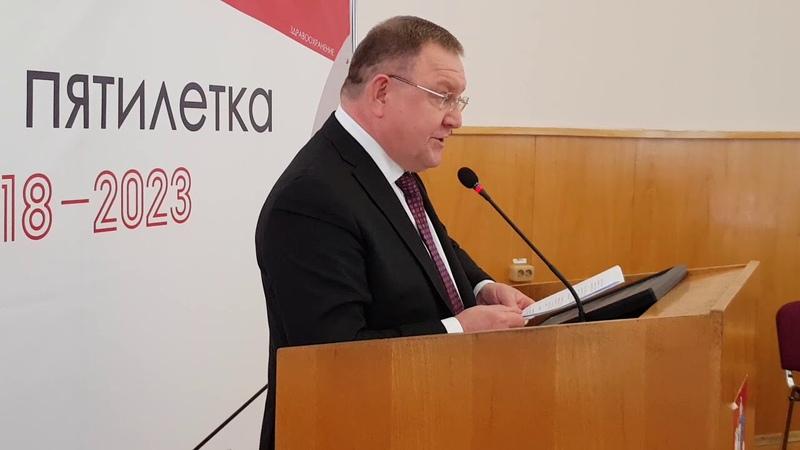 За того парня. Евгений Жирков отчитался о работе Главы Пушкинского района в 2018 году