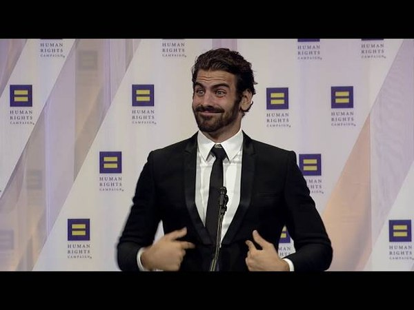 2016: Nyle DiMarco at the HRC National Dinner 10/09