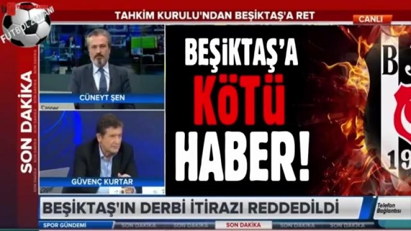 TFF Tahkim Kurulundan Beşiktaşa ret! Turgay Demir ve Alp Pehlivan yorumları
