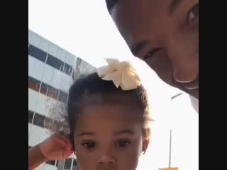 Джини с дочкой