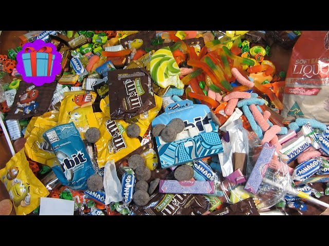 Complication A Lot Of Candy! Best 5 Video Of New A Lot Of Sweets!