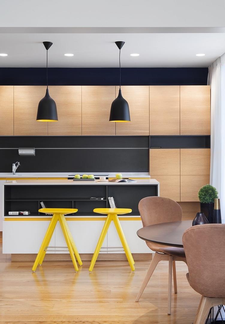 SMALL APARTMENT DESIGN: MODERN ELEGANCE BY FIMERA #Жилье #Дизайн#design