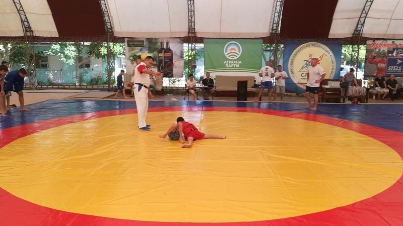Насухо Станислав, соревнования в Каролино-Бугаз, июнь 2018