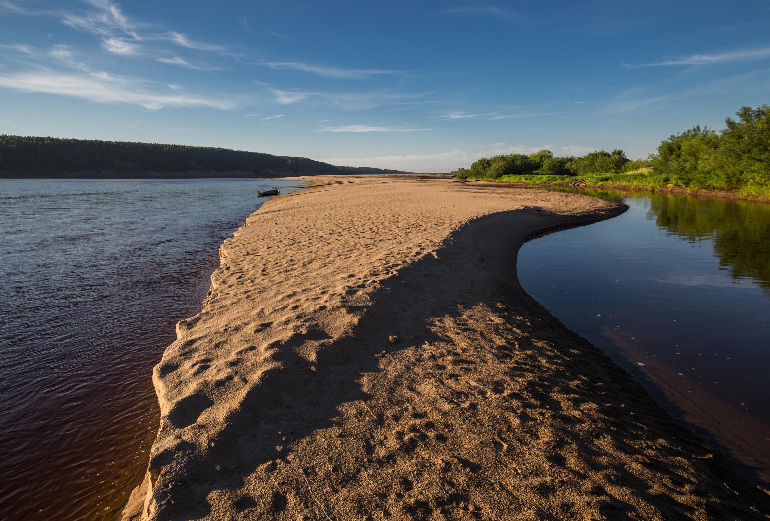 Пески Северной Двины