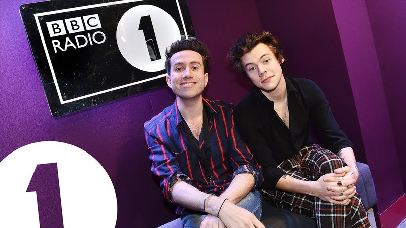 Harry Styles co-hosts the Radio 1 Breakfast Show with Nick Grimshaw