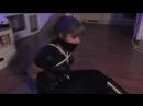 Luna Grey Burglar Tied Up