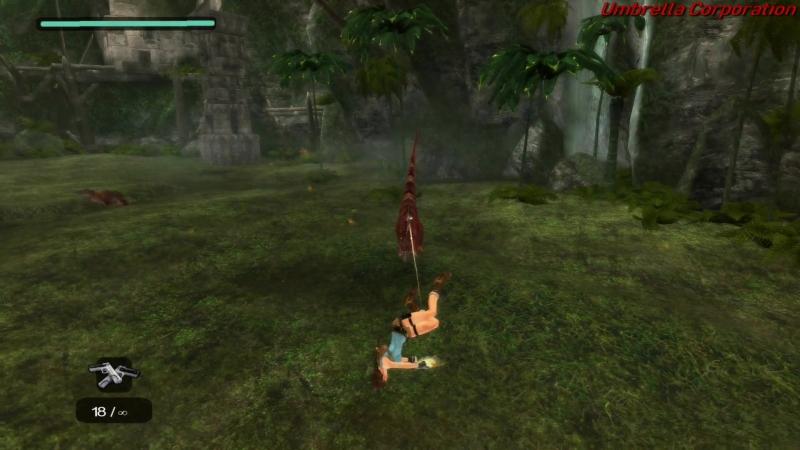 Lara Croft Tomb Raider Anniversary. Часть 3. Затерянная долина.