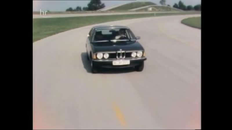 BMW 7-series (E23) BMW 3-series (E21) - на автосалоне Франкфурт-На-Майне 1977 год