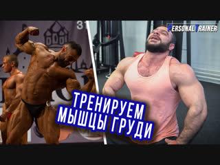 Качаем мышцы груди. Тренировка от Вахтанга Датукишвили