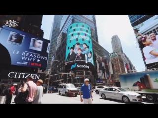 SHINee 10th Anniversary support project PART - 7 - Nasdaq Marketsite in Times Square of Ne