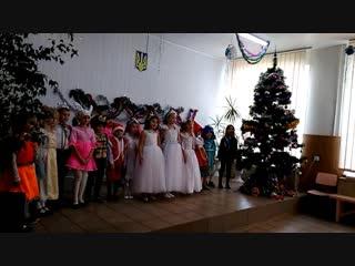 Виступ моїх діточок на святі Нового року!🎤 Пісня