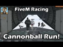 Broughy1322 Cannonball Run Warp Checkpoint Races GTA FiveM Racing Live 2