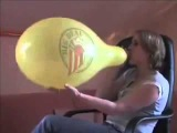 Mausi b2p yelow balloon avi Balloon Looner Girls