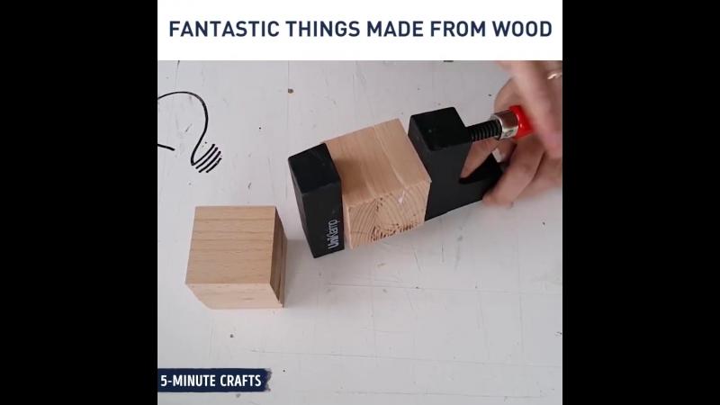 Фантастические идеи с деревом вам определенно нужно попробовать.
